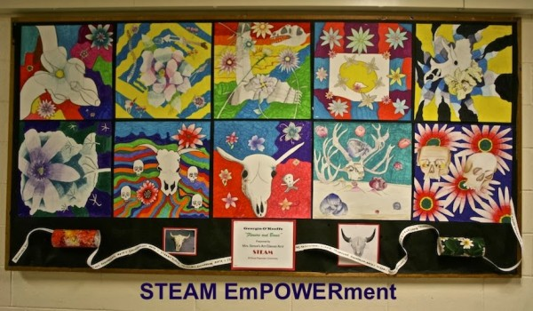 STEAM EmPOWERment showcases the work of several schools in the Paterson Public Schools. Photo via steamempowerment.blogspot.com/