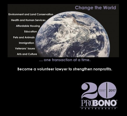 Celebrating Pro Bono - Change the World